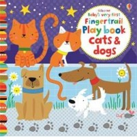 Baby's very first fingertrail play book cats and dogs