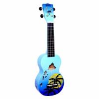 Mahalo Soprano Ukulele (Hawaii Blue Burst)