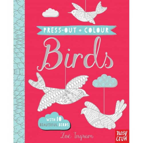 Press Out and Colour: Birds Nosy Crow