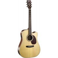 Cort MR600 FNS Elektro Akustik Gitar (Naturel)