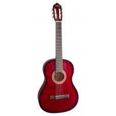 Valencia VC104RBS Klasik Gitar 4/4 (KIRMIZI SUNBURST)