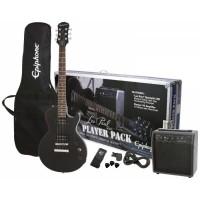 Epiphone Les Paul Player Pack Special II Elektro Gitar Seti (Ebony)
