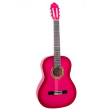 Valencia VC104PKS Klasik Gitar 4/4 (PEMBE)