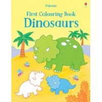 First colouring books Dinosaurs