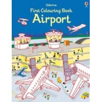 First colouring books Airport