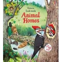 Look inside animal homes