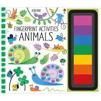 Fingerprint Activities Animals Usborne