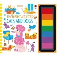Fingerprint Activities Cats and Dogs Usborne
