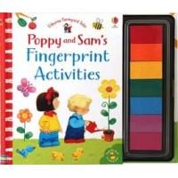 Poppy and Sam's fingerprint activities Usborne