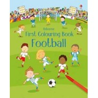First colouring books Football