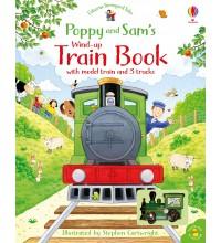 Poppy and Sam's Wind-up Train Book Usborne